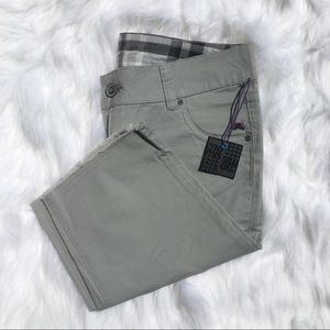 Raw Hem Cropped Shorts
